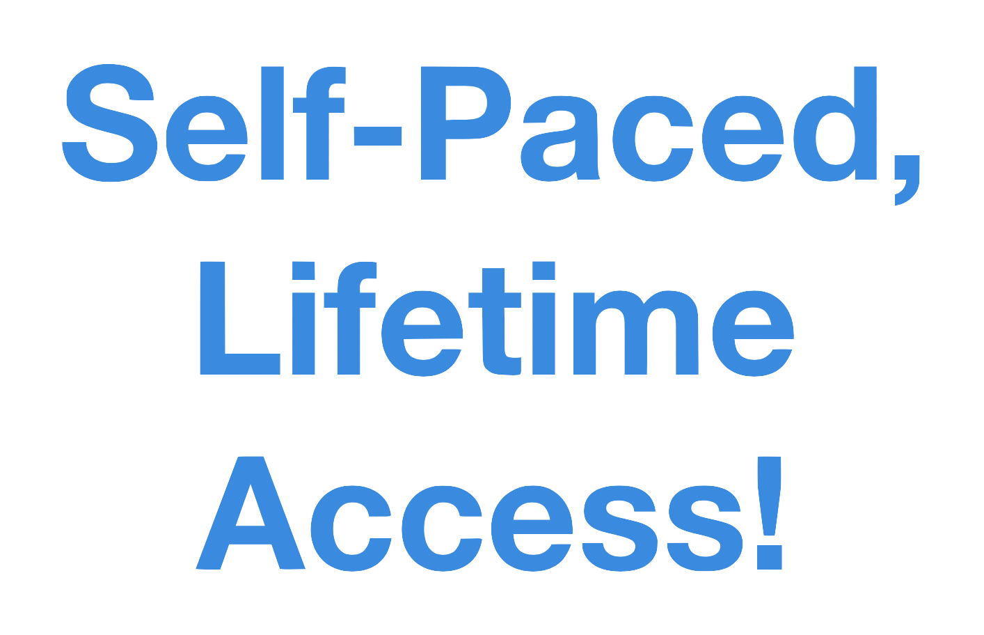 Self Paced Lifetime Access Wo Background